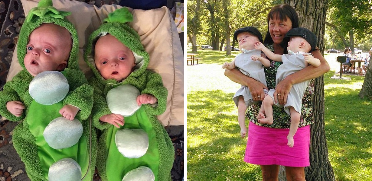Parents Deemed 'Unfit' To Care For Twins With Rare Condition, So Nurse Adopts Them Herself