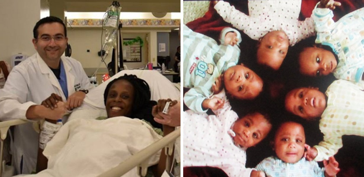 Woman From Texas Gives Birth To SIX Babies In Just Ten Minutes
