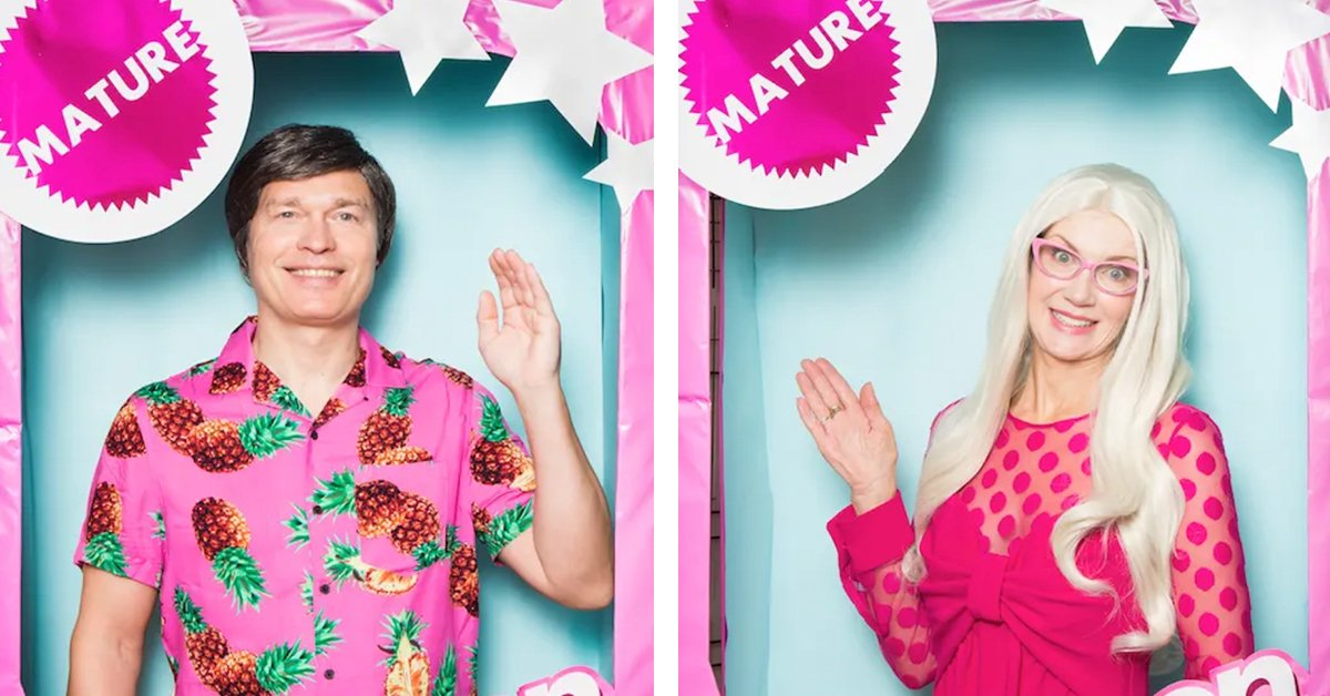 It Was Barbie & Ken's 60th Birthday On Saturday And They Were Reimagined As Real People