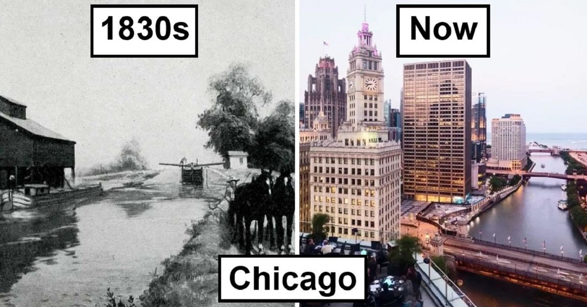 15 Cities That Have Changed Drastically Over The Years
