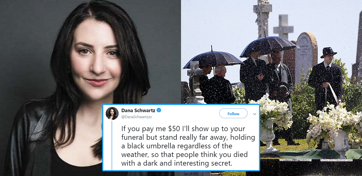 Woman Offers To Turn Up At People's Funerals For $50 – With Bizarre Twist