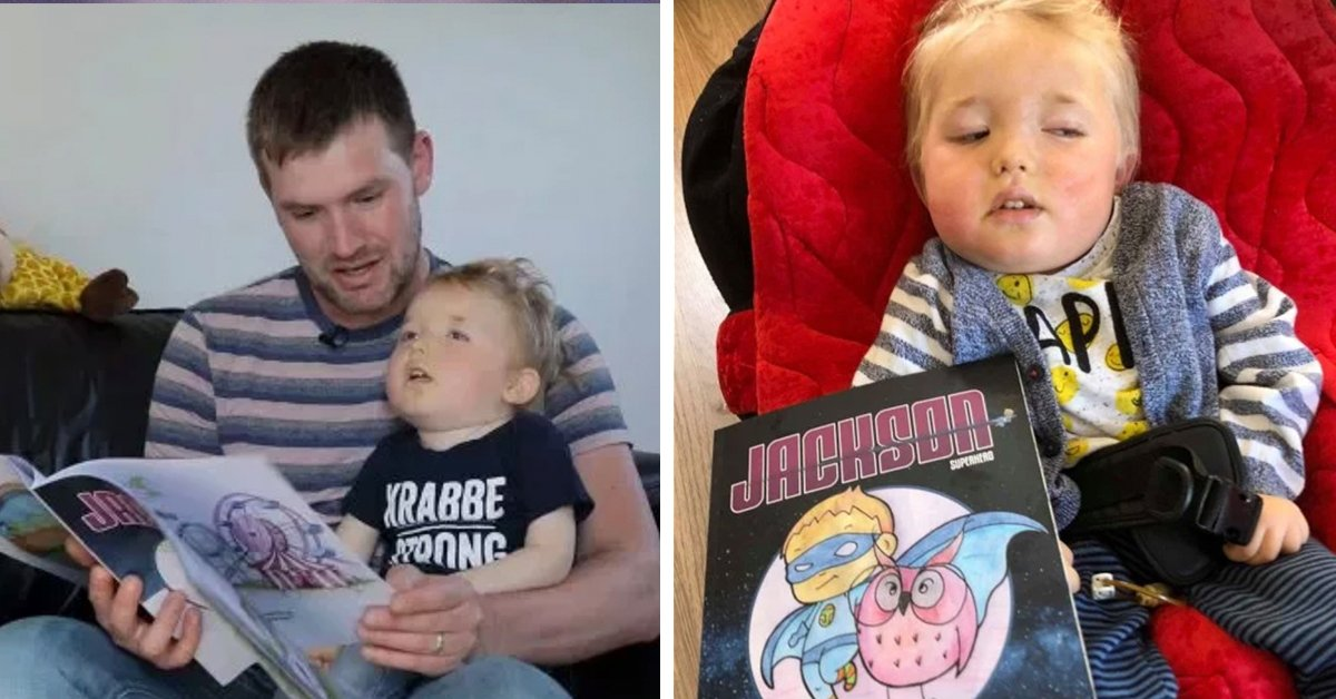 Dad Writes Incredible Book About Son Being A Superhero Before His Son Passes Away