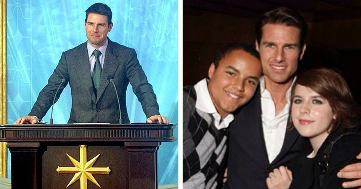 """Tom Cruise's Children Are The """"Rock Stars"""" Of The Scientology Community That Considers Him A Diety"""