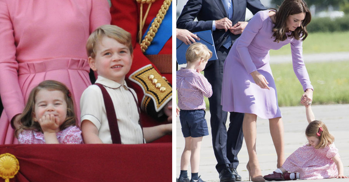 20 Times Prince George and Princess Charlotte Showed Kate And Wills Exactly Who Ruled The Roost