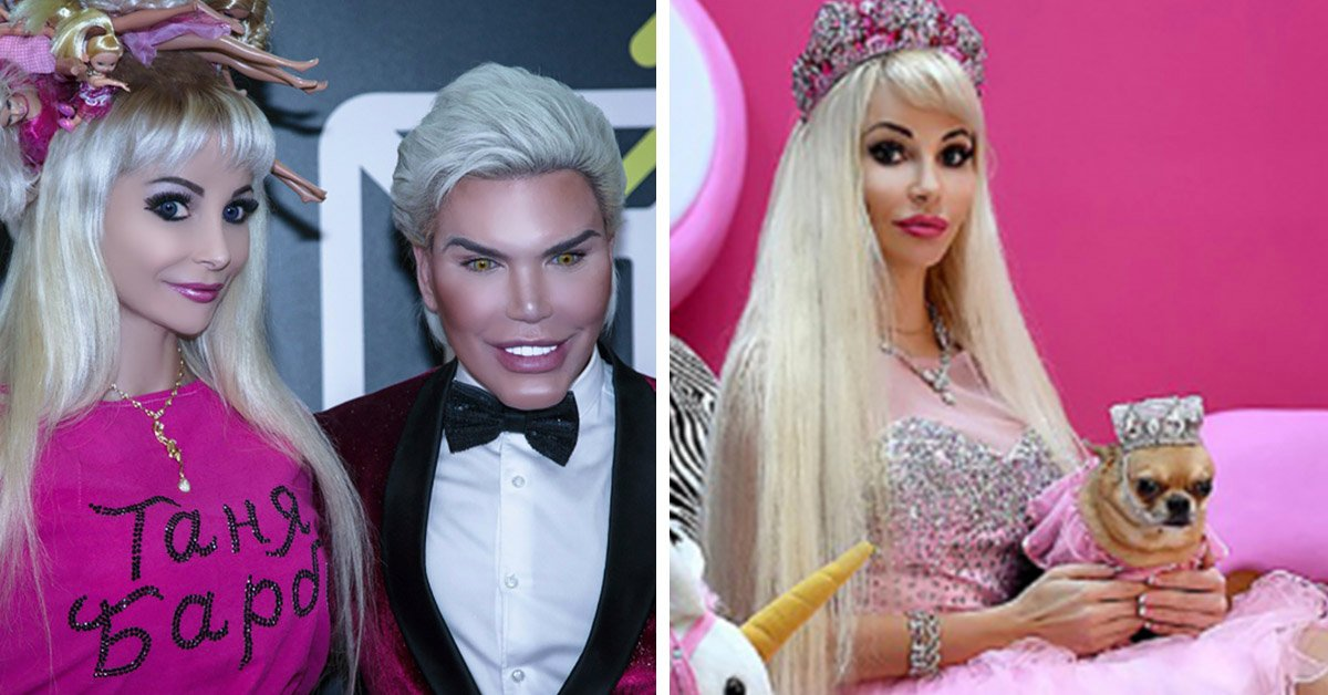 """Russian Model Says It's A """"Lonely"""" Life Being A Real-Life Barbie Doll"""