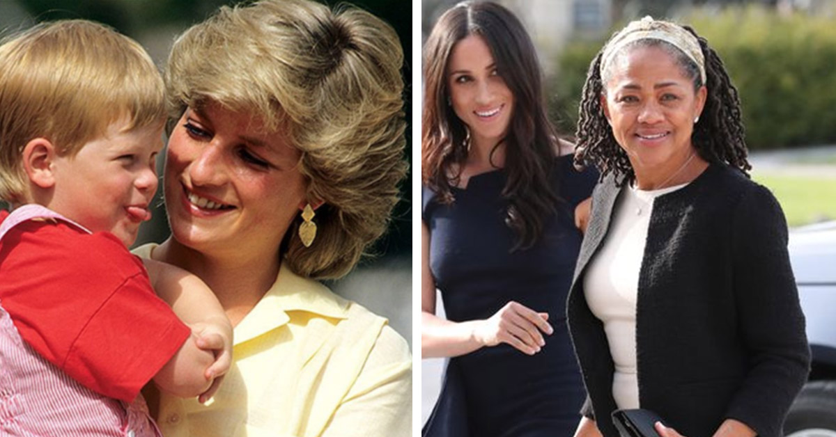 Diana And Doria: Five Ways The Grandmothers Will Influence Harry and Meghan's Baby