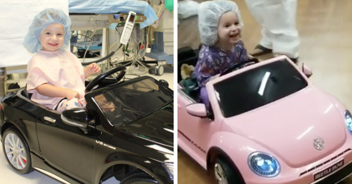 This Hospital Lets Kids Drive To Their Surgeries In Mini Motorcars And Our Hearts Are Melting