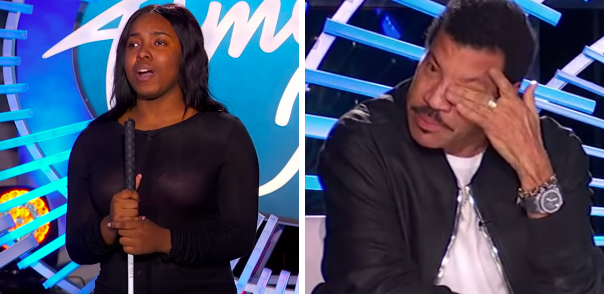 Young Blind Contestant Moves Lionel Richie To Tears On 'American Idol'