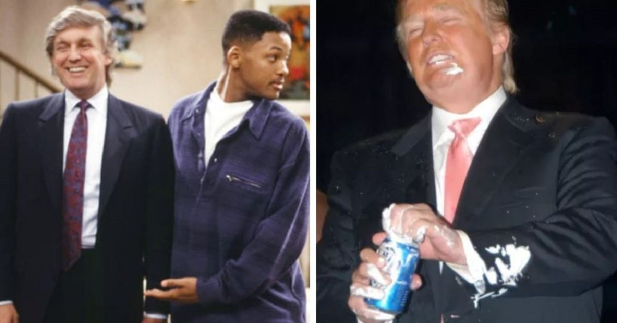 20 Rare And Totally Bizarre Pictures Of Donald Trump Before He Became President