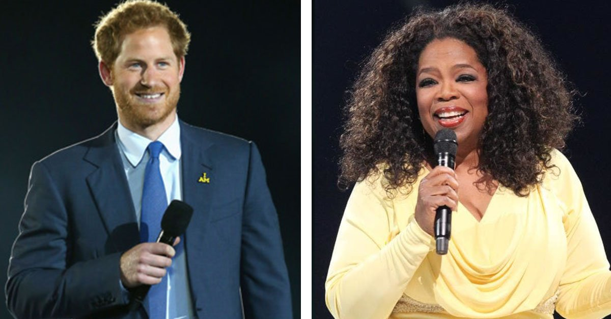 Prince Harry And Oprah Winfrey Are Combining Forces To Bring Us A Documentary On Mental Health