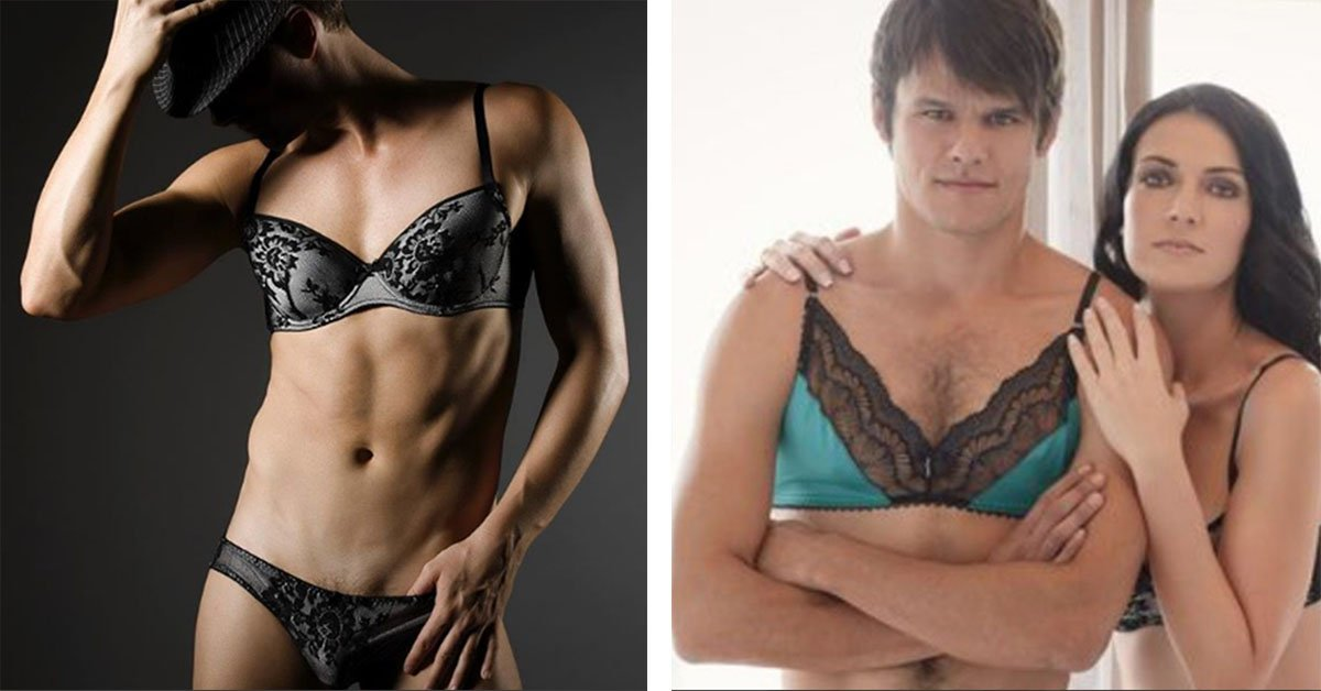 Racy Male Lingerie Is Available Because It's Only Fair Right?
