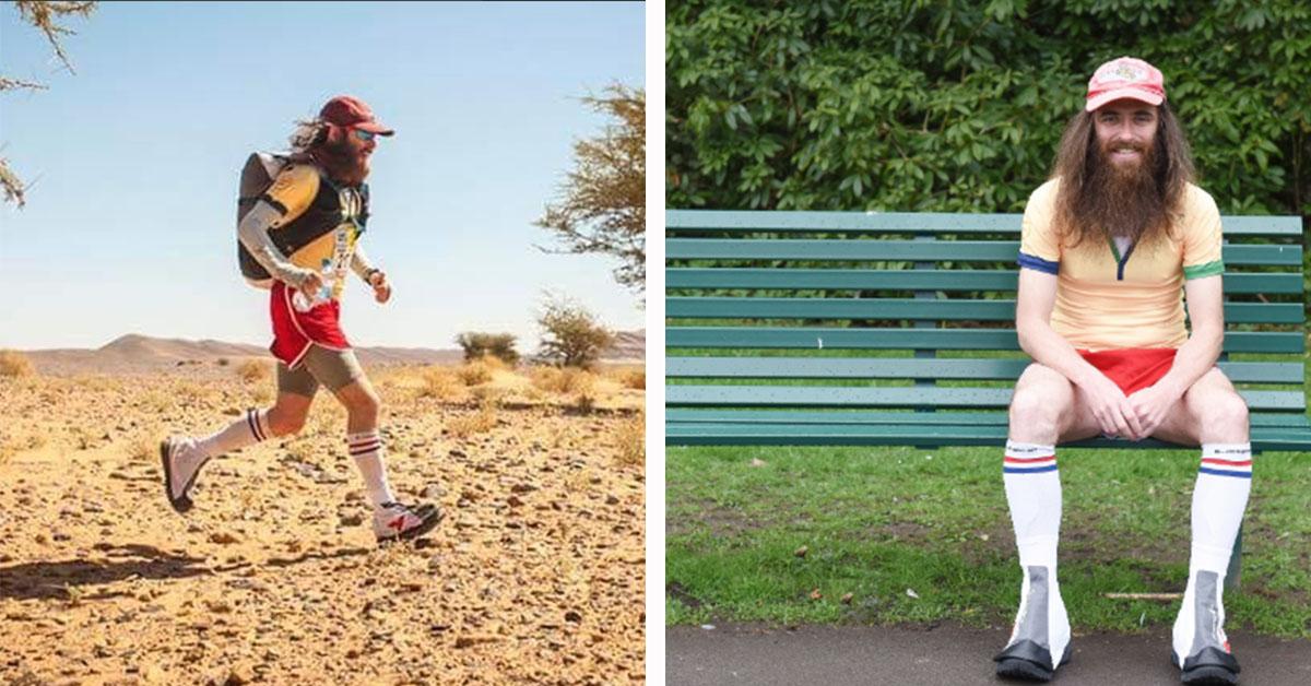 Real Life Forrest Gump Runs World's Hardest Marathon, After Running 15,700 Miles