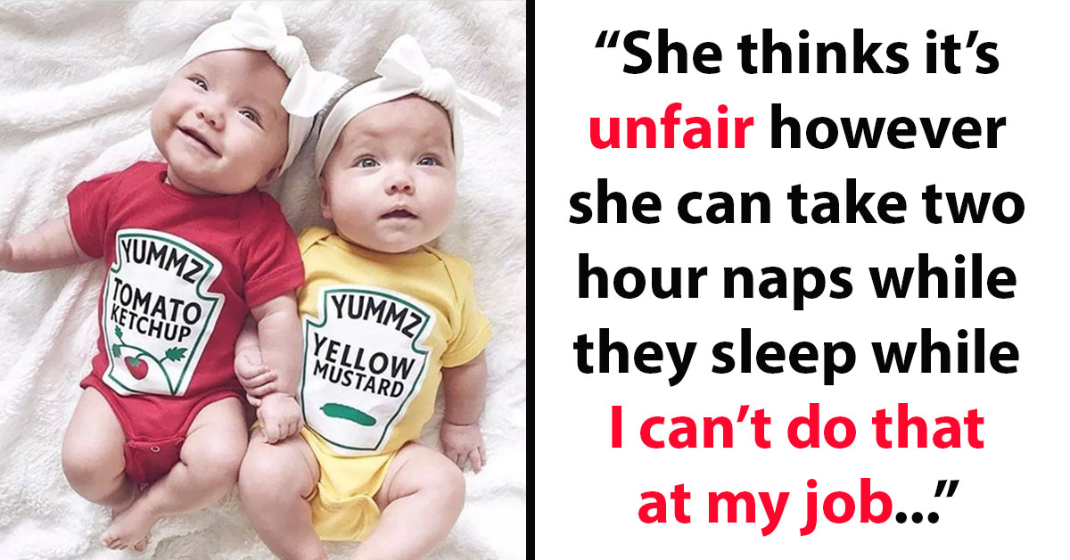 Father Of Newborn Twins Divides The Internet Saying He Shouldn't Get Up At Night To Comfort Them