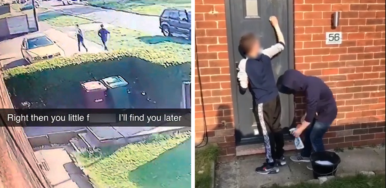 Man Tracks Down Kids Who Egged His Home And Makes Them Clean It Up