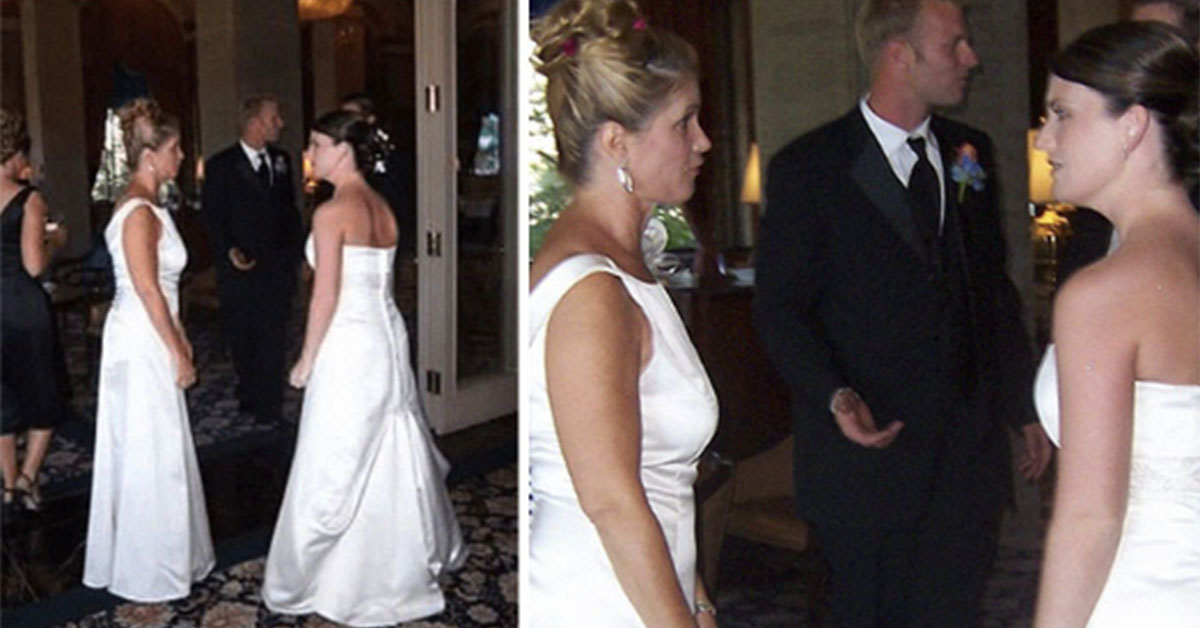 """""""My Mother-In-Law Wore A Wedding Dress To My Wedding"""""""