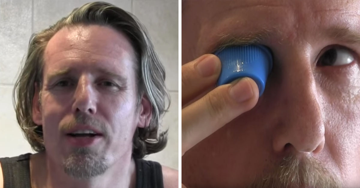 Man Gargles And Rinses Eyes Out With Urine To Stay 'Healthy'
